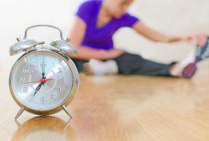 Stretching dengan Penjadwalan