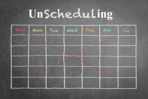 Unscheduling