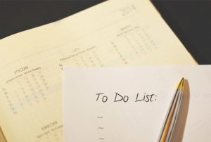 "The ""To Do List"""