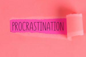 Apakah ini masuk Procrastination atau Sekedar Menunda?